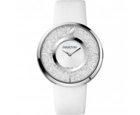 Swarovski 1135989 Crystalline White Leather Swiss Made Women's Watch