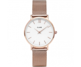 Cluse CL30013 Minuit Mesh Stainless Steel Rose Gold Tone Women's Watch