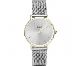 Cluse CL30024 Minuit Mesh Gold Tone Stainless Steel Women's Watch