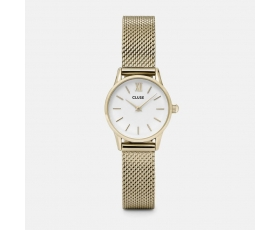 Cluse CL50007 La Vedette Gold Tone Stainless Steel Mesh Ladies Watch