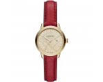 Burberry BU10102 The Classic Round Red Leather S..