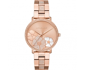 Michael Kors MK3865 Jaryn Rose Gold-tone Women's Chronograph Watch