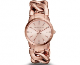 Michael Kors MK3236 Crystal Rose Gold Stainless Steel Women's Watch