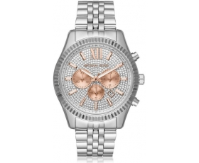 Michael Kors MK8515 Lexington Crystal Pave Men's Chronograph Watch