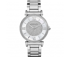 Michael Kors MK3355 E-Display Catlin Stainless Steel Ladies Watch
