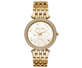 Michael Kors MK3727 Darci White Dial Gold Tone Ladies Watch