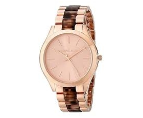 Michael Kors MK4301 Runway Rose Gold Tone Stainless Steel Ladies Watch