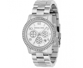 Michael Kors MK5083 Chronograph Dial Stainless Steel Ladies Watch