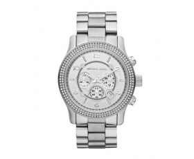 Michael Kors MK5574 Runway Stainless Steel Silver Dial Ladies Watch