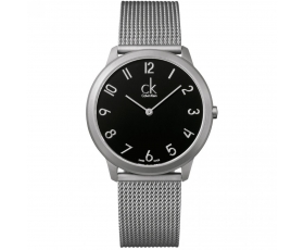 Calvin Klein K3M51151 Minimal Black Dial 40mm Men's Wrist Watch