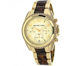 Michael Kors MK6094 Blair Two Tone Tortoise Shell Acetate Ladies Watch