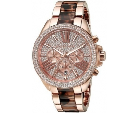Michael Kors MK6159 Wren Rose Gold Tortoise Shell Ladies Watch