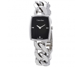 Calvin Klein K5D2M12T Amaze Black Dial Stainless Steel Women's Watch