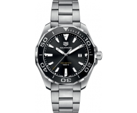 Tag Heuer way101a.ba0746 Aquaracer 300M Quartz Black Dial Men's Watch