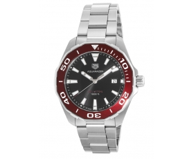 Tag Heuer way101b.ba0746 Aquaracer Black Stainless Steel Men's Watch