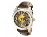 Ed Hardy EDRE-SK Mens Revolution Skull Brown Str..