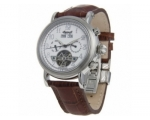 Ingersoll IN4500WH Sioux Mens White Dial Brown L..