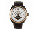 Ingersoll IN4505RWH Mens Montgomery White Dial W..