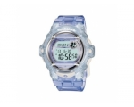 Casio Ladies Baby-G Digital Dial Purple Strap Wa..