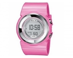 Casio Ladies Baby-G Stone Digital Pink Strap Wat..