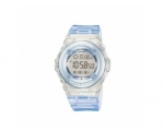 Casio Baby-G Ladies Light Blue Rubber Watch BG-1..
