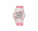 Casio Baby-G Ladies Light Pink Rubber Strap Watc..