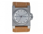 Levis   L001GUCWRM Gents White Dial With Brown S..