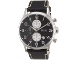 Hugo Boss 1512569 Chronograph Black Dial Black L..