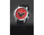 TW Steel Grandeur Tech 48mm Red Dial Chronograph..