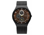 Skagen Watches 806XLTBD Mens Brown Steel Mesh Wa..