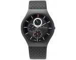 Skagen Mens Watch 806XLTBLB Black Leather Strap ..