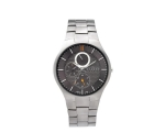Skagen Denmark Mens Watch Silver Link Multifunct..