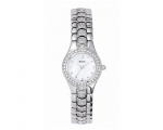 Bulova Watches 96T14 Ladies Crystal White Watch