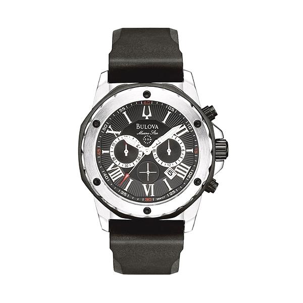 65f215179 Bulova 98B127 Mens Marine Star Watch