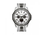Bulova Men's 98C005 Crystal Day-Date Watch
