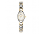 Bulova Women's 98V02 White Patterned Bracelet Wa..