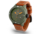 Alessandro Baldieri Green Magnum Watch