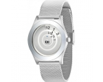 The One Mesh SS Silver Watch With Stainless Stee..
