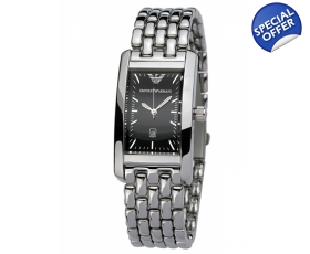 Emporio Armani AR0115 Stainless Steel Mens Designer Watch
