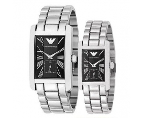 Emporio Armani AR0156 and AR0157 - Armani His and Hers Watches