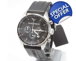 Emporio Armani AR0527 Chronograph Resin Band Men..