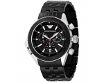 Emporio Armani AR0547 - Mens Sports Style Steel ..