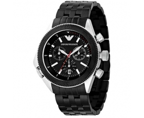 Emporio Armani AR0547 - Mens Sports Style Steel Designer Watch