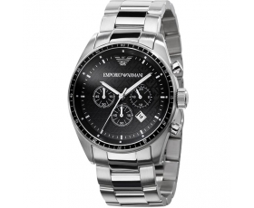 Emporio Armani AR0585 Mens Stainless Steel Designer Watch