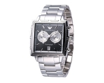 Emporio Armani AR0591 - Mens Grey Chronograph Sp..