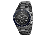 Armani AR1429 - Black CERAMIC Chronograph Mens W..
