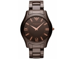 Emporio Armani AR1444 Mens Brown Ceramica Watch