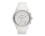 Emporio Armani AR1453 - Mens Latest White Cerami..