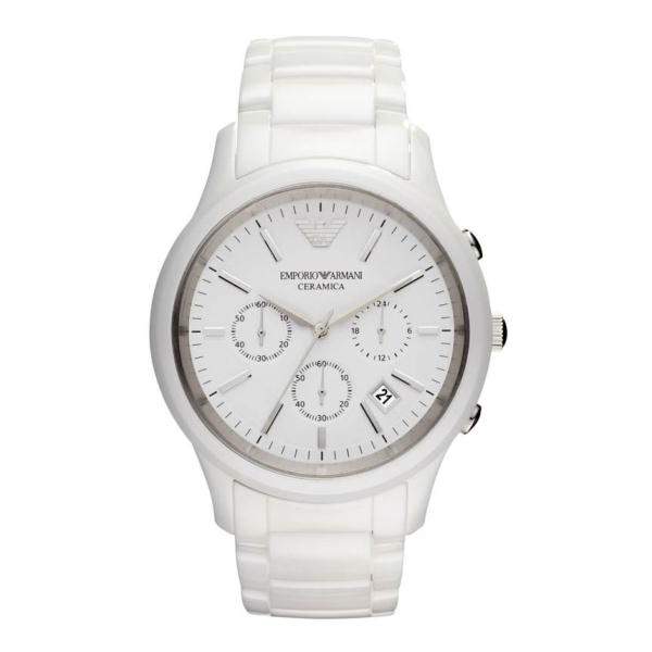 ff21fe3d8d9b1 Emporio Armani AR1453 - Mens Latest White Ceramic Watch