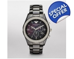 Emporio Armani AR1455 Latest Model Ladies Black ..